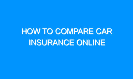 How to Compare Car Insurance Online
