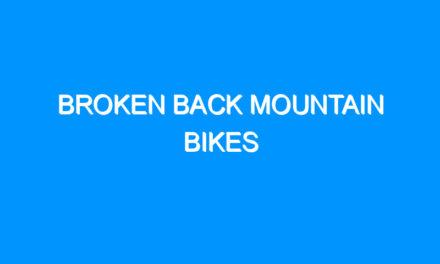 Broken Back Mountain Bikes