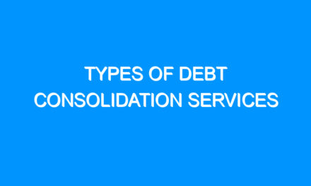 Types of Debt Consolidation Services