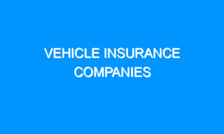 Vehicle Insurance Companies