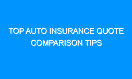 Top Auto Insurance Quote Comparison Tips